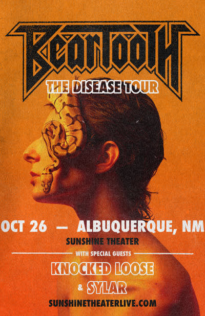 Beartooth – The Disease Tour
