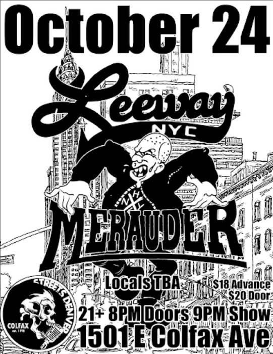 Leeway + Ringworm + Merauder