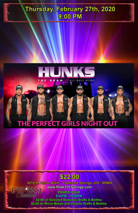 HUNKS MALE REVIEW