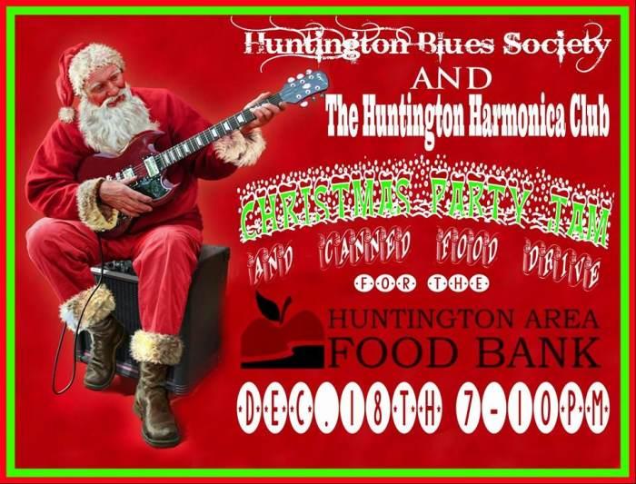 VClub Live - Huntington Blues Society / Huntington Harmonica Club