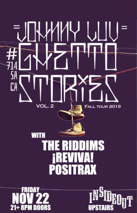 The Riddims * Reviva * Johnny Luv Band * PosiTrax