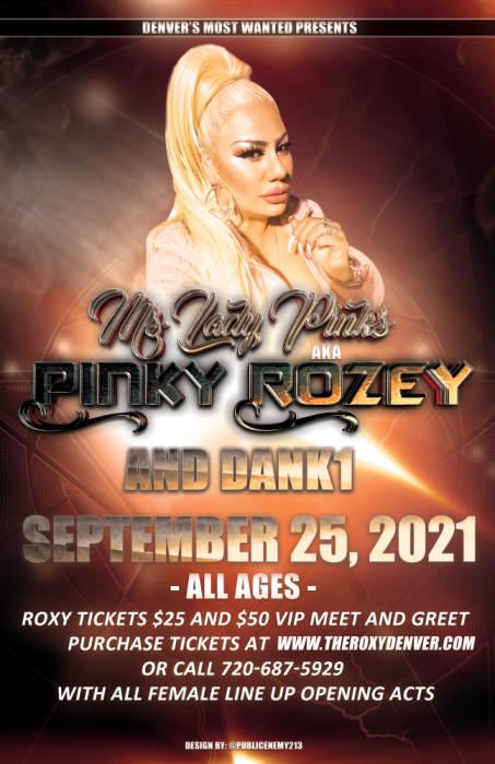 Ms. Lady Pinks AKA Pinky Rozey