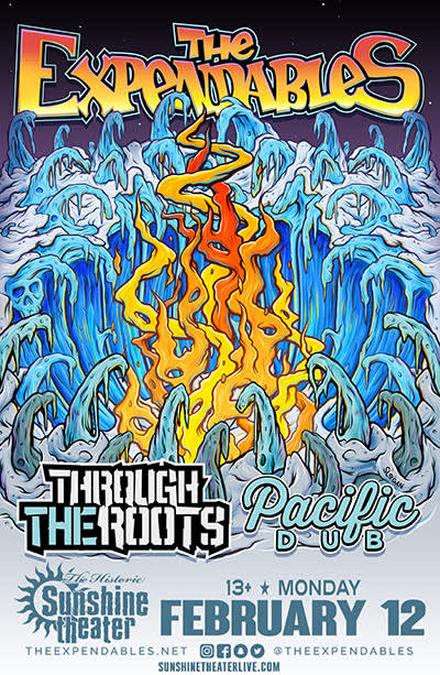 The Expendables * Through The Roots * Pacific Dub