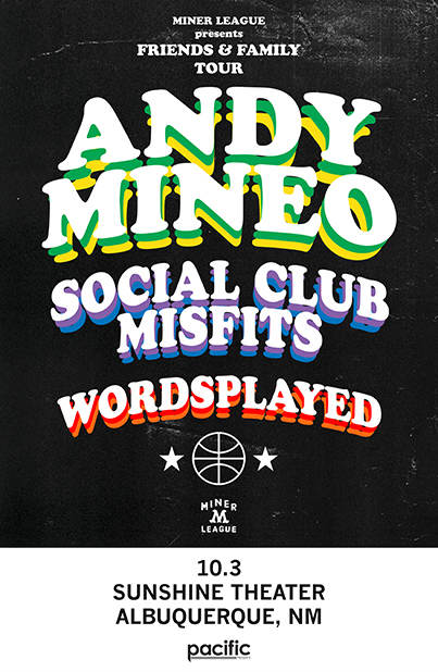 Andy Mineo * Social Club Misfits * Wordsplayed