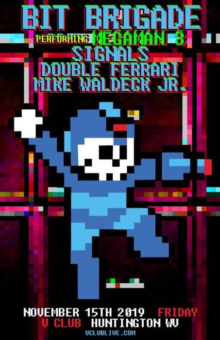 Bit Brigade (Performs Megaman 3) with Signals, Double Ferrari & Mike Waldeck Jr.
