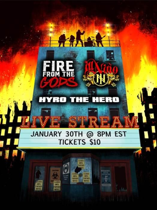 Fire From The Gods / Ill Nino