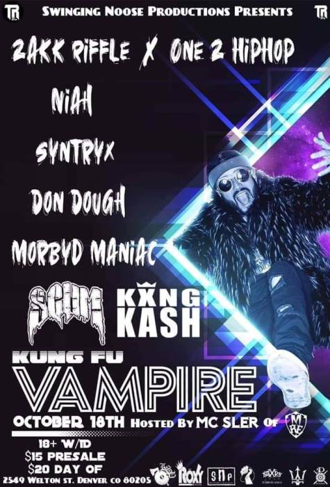 Kung Fu Vampire + More