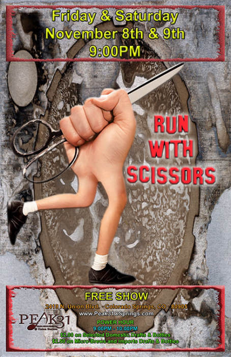 Run with Scissors