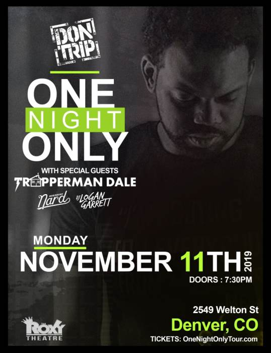 Don Trip- One Night Only Tour