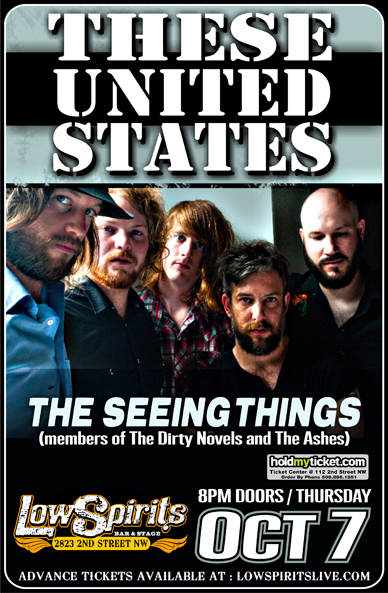 These United States * The Seeing Things (members of The @ Low Spirits  Albuquerque , NM - October 7th 2010 9:00 pm