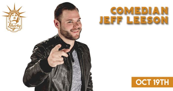 A Night of Comedy with Jeff Leeson