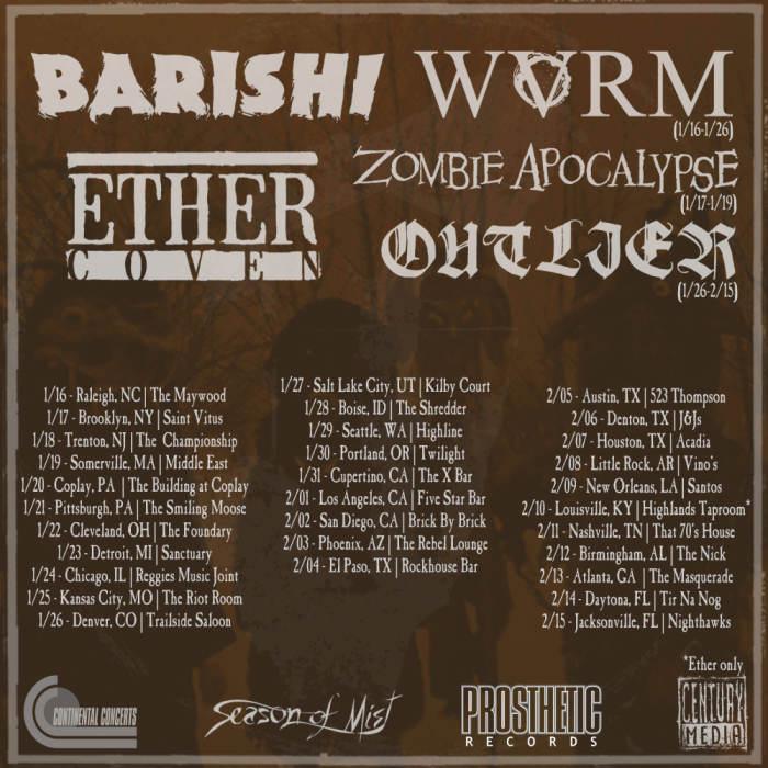 BARISHI / ETHER COVEN