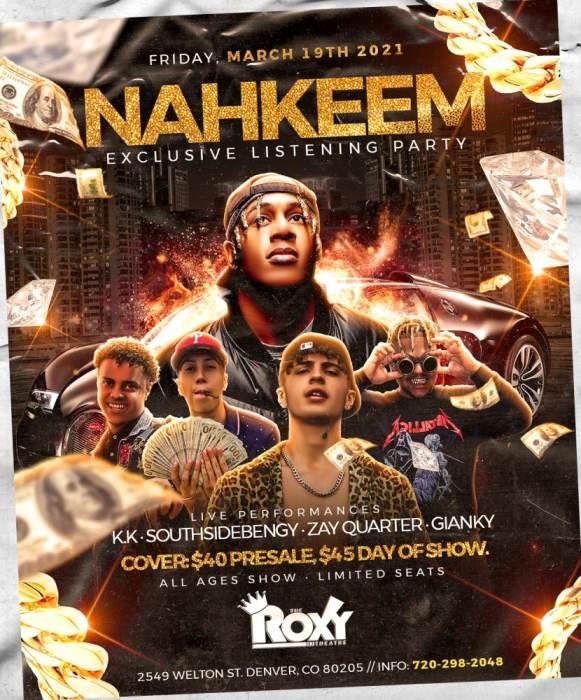 Nahkeem Exclusive Listening Party
