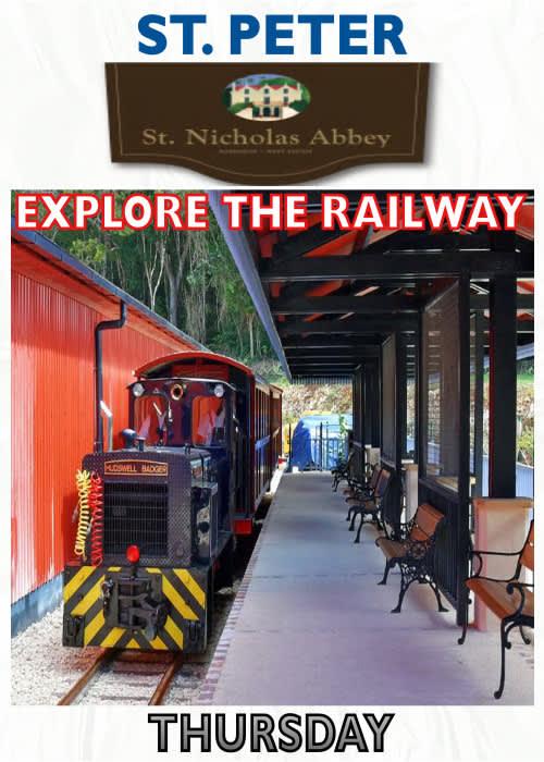 St. Nicholas Abbey Heritage Railway