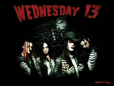 Wednesday 13 Vampires Everywhere @ Tricky Falls El Paso, TX - June 8th 2013  8:00 pm
