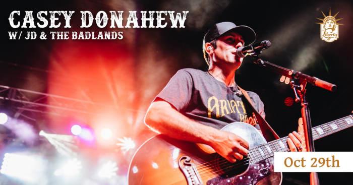 Casey Donahew w/ JD & The Badlands