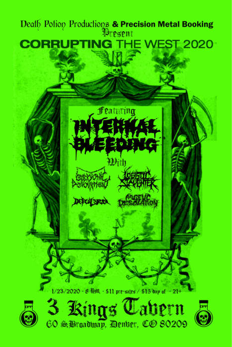 DEATH POTION PRODUCTIONS PRESENTS: INTERNAL BLEEDING W/