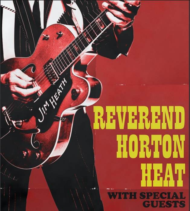 Reverend Horton Heat *NEW DATE!""