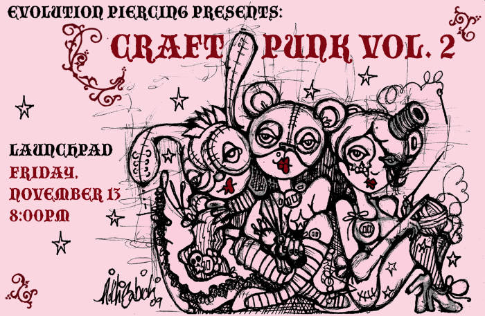 Evolution Body Piercing Presents Craft Punk Fashion Show Featuring Clothing Launchpad Albuquerque Nm November 13th 2009 9 30 Pm