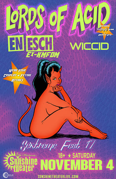 Lords of Acid * En Esch * Wiccid