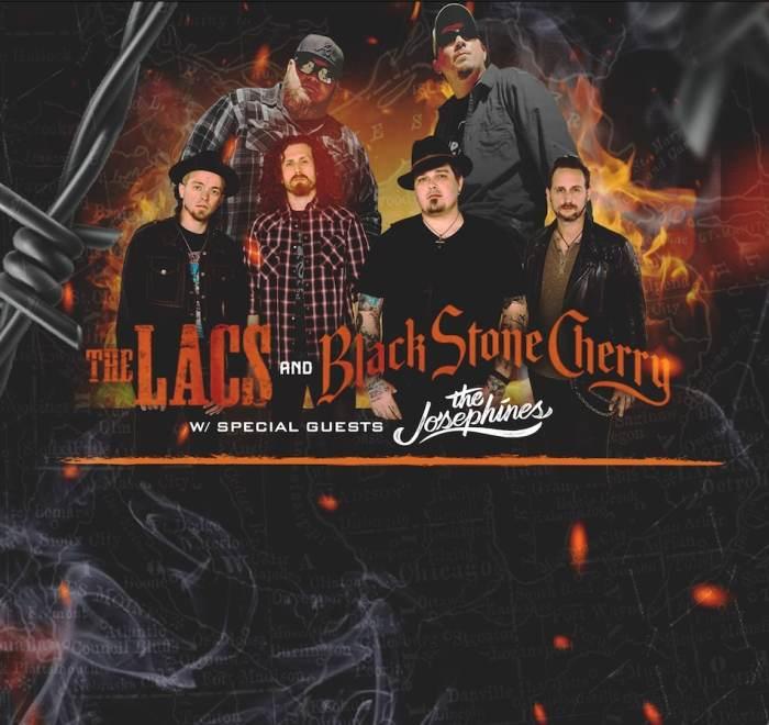 The LACs + Black Stone Cherry