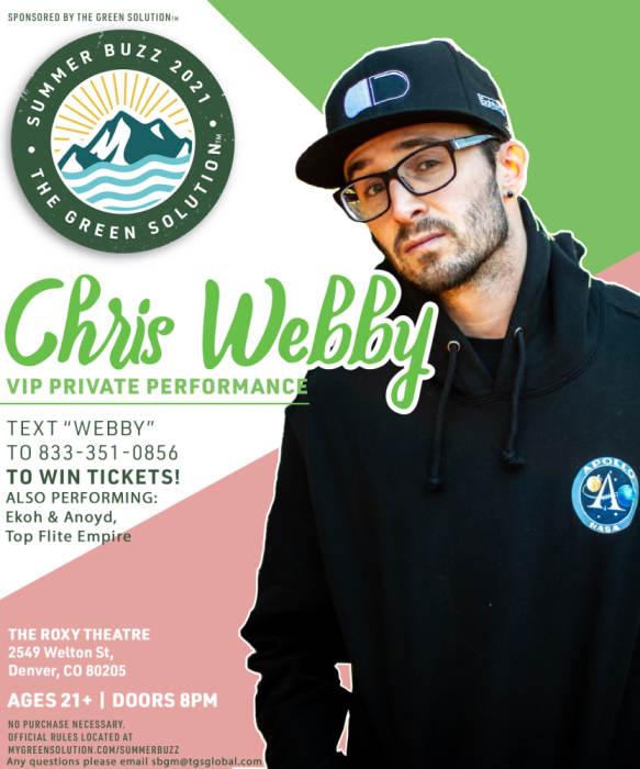 Chris Webby Private Event