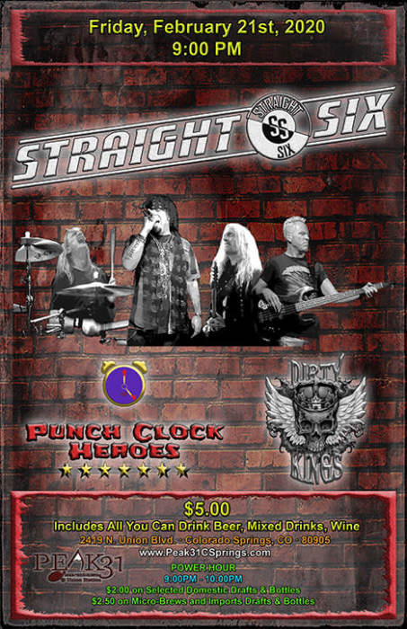 Straight Six, Punch Clock, Dirty Kings