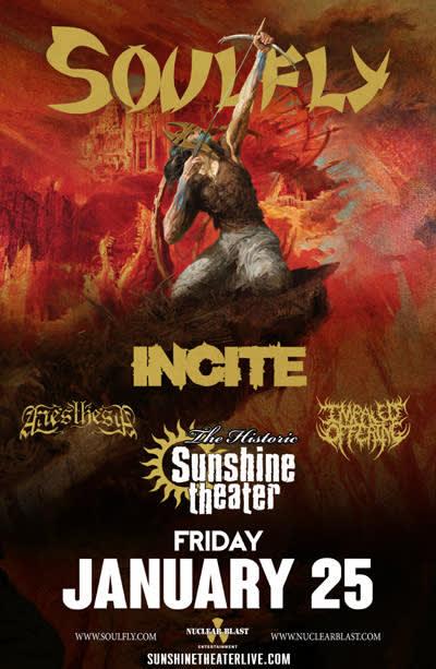 Soulfly - Ritual Tour