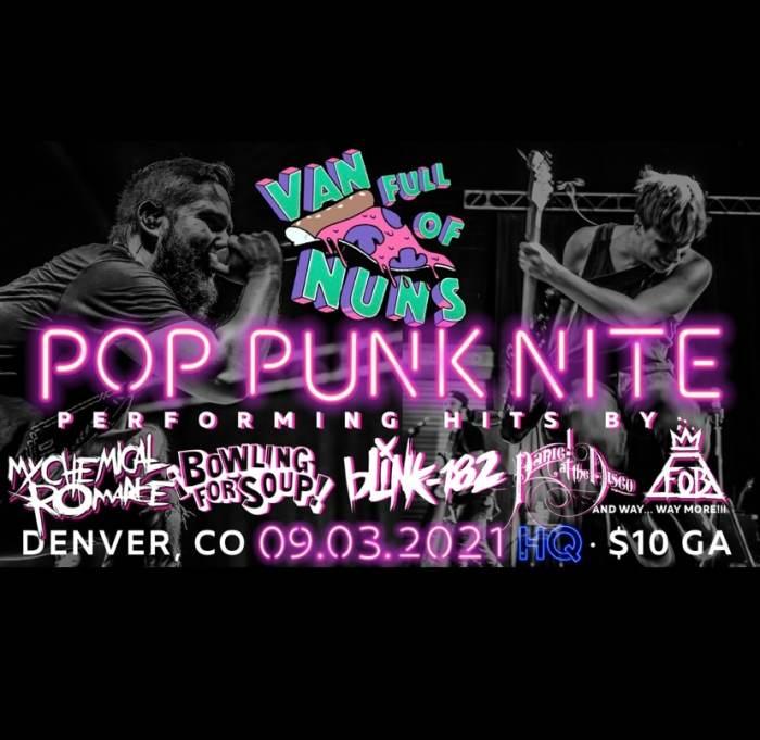 Pop Punk Nite: Denver, CO! By: Van Full Of Nuns!