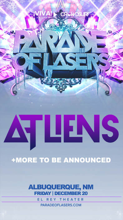 Parade of Lasers 2019 feat. ATLiens (Albuquerque, NM)