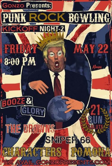 PRB kick off Night 2 Booze and Glory, SNIPER 66