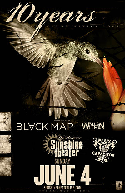 10 Years * Black Map * Walls Within