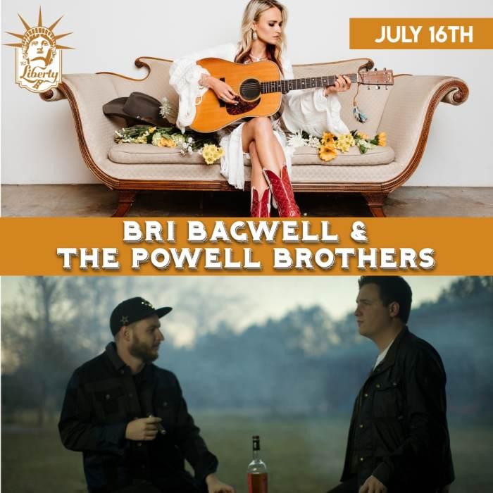 Bri Bagwell w/ The Powell Brothers