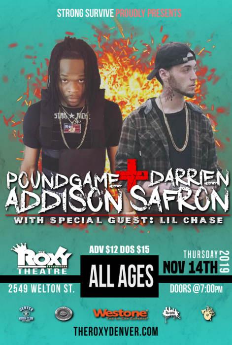 Poundgame Addison & Darrien Safron