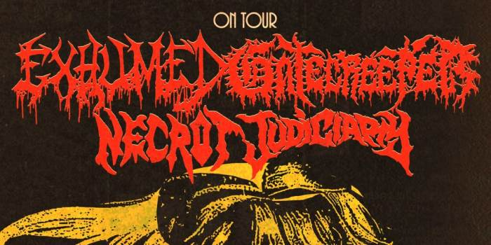 Dollhouse Presents... Exhumed, Gatecreeper, Necrot, Judiciary