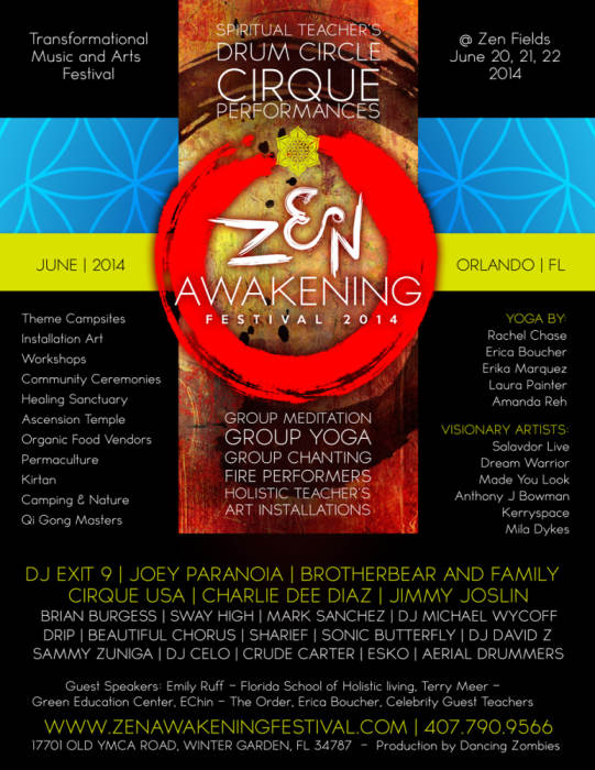 Zen Awakening Festival Transformational Music And Art