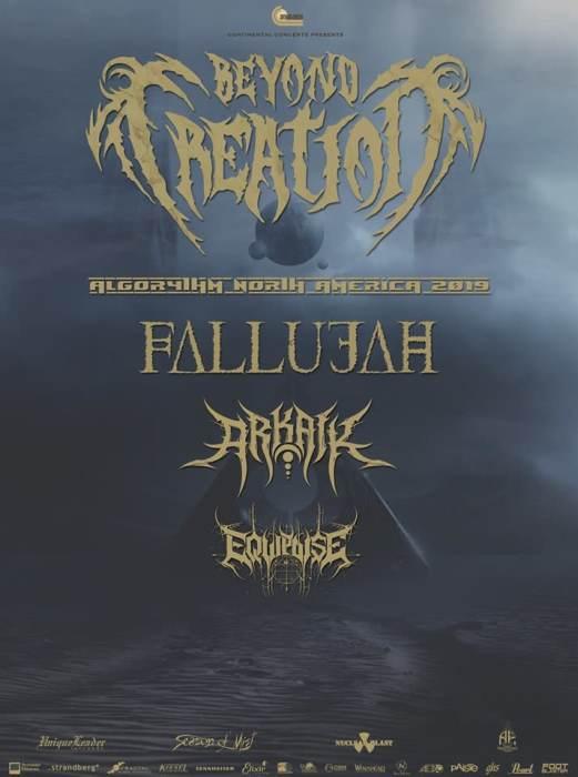 Beyond Creation, Fallujah, Arkaik, Equipoise