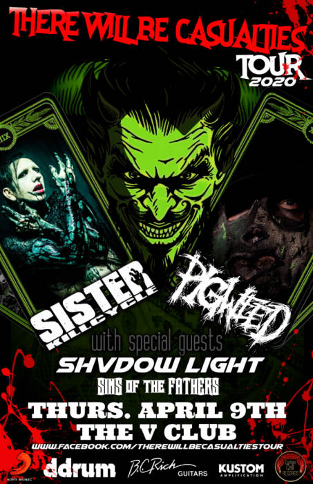 Sister Kill Cycle / Pigweed / Shvdow Light / Sins of the Fathers