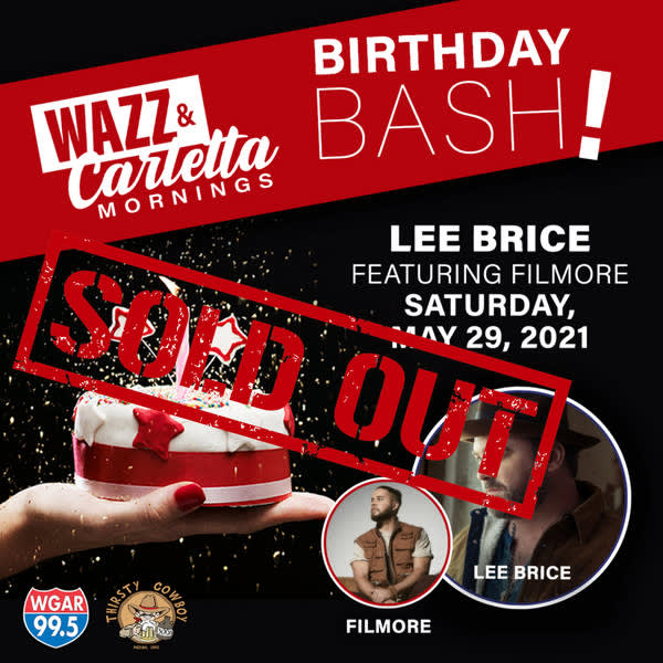 LEE BRICE W. SPECIAL GUEST FILMORE