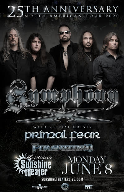 Symphony X 25th Anniversary Tour