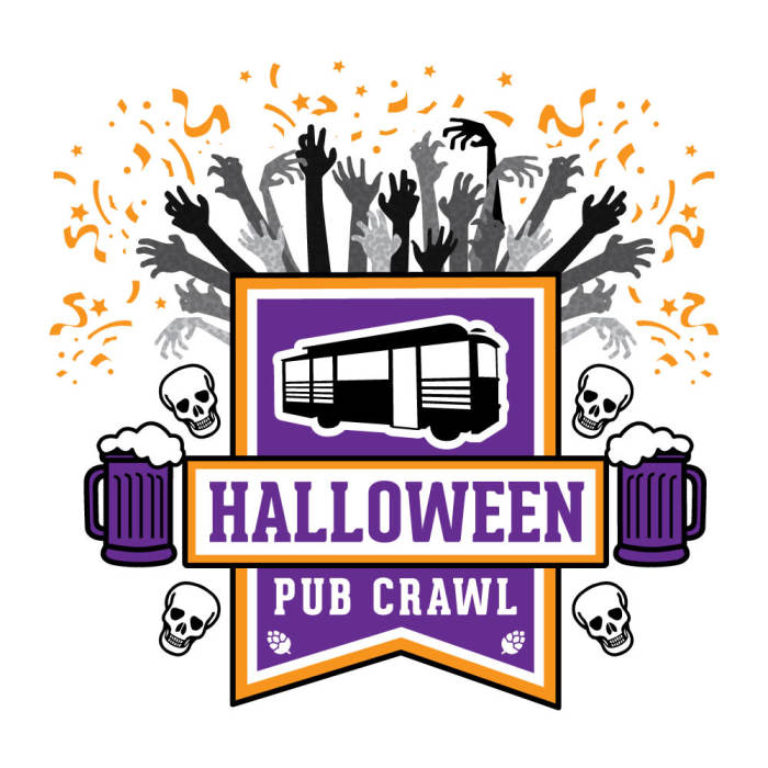 ABQ Trolley Co: Halloween Pub Crawl