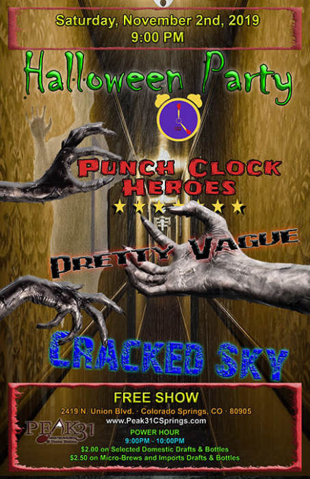 Punch Clock Heroes / Pretty Vague /