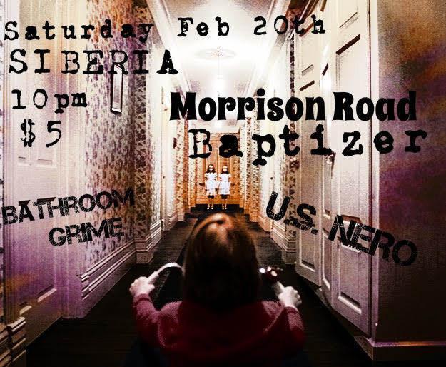Morrison road baptizer u s nero bathroom grime for Bathroom s bandcamp