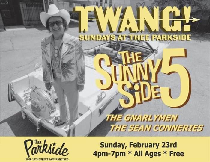 TWANG! Sunday at Thee Parkside