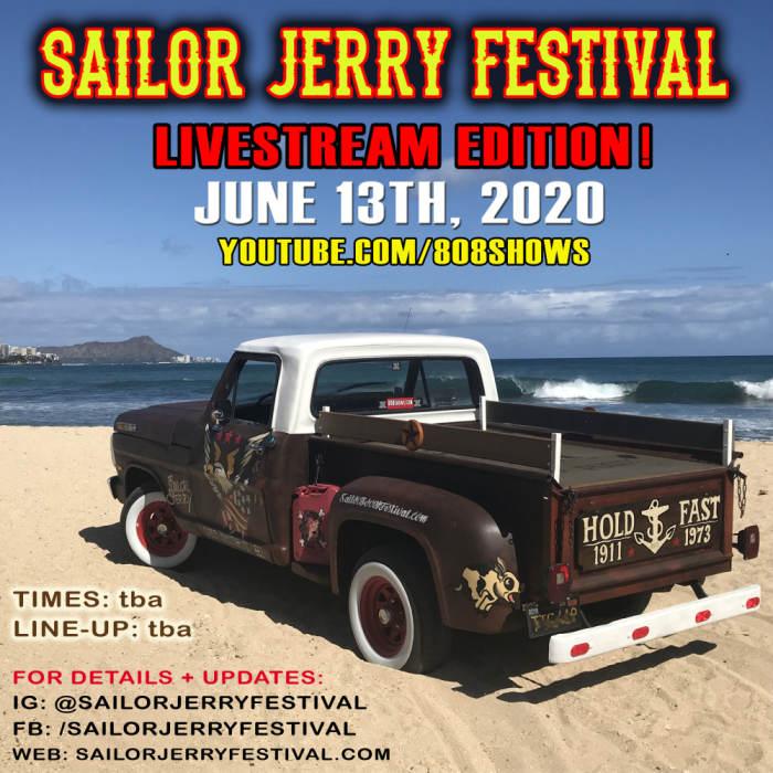 Sailor Jerry Festival Covid-19 edition live broadcast