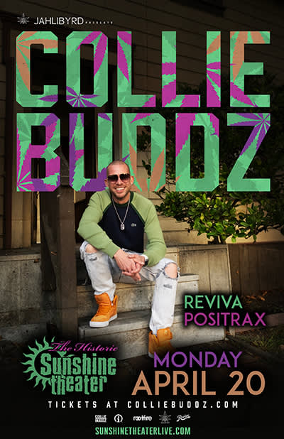 Collie Buddz * Reviva * Positrax