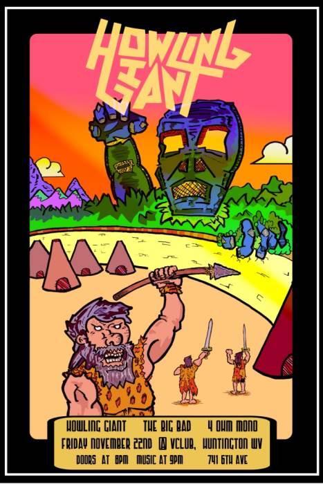 Howling Giant / The Big Bad / 4 Ohm Mono
