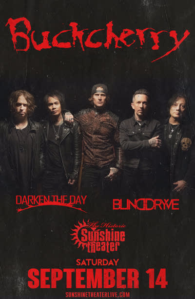 Buckcherry * Darken The Day * Blinddryve