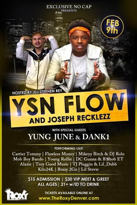 YSN Flow and Joseph Recklezz