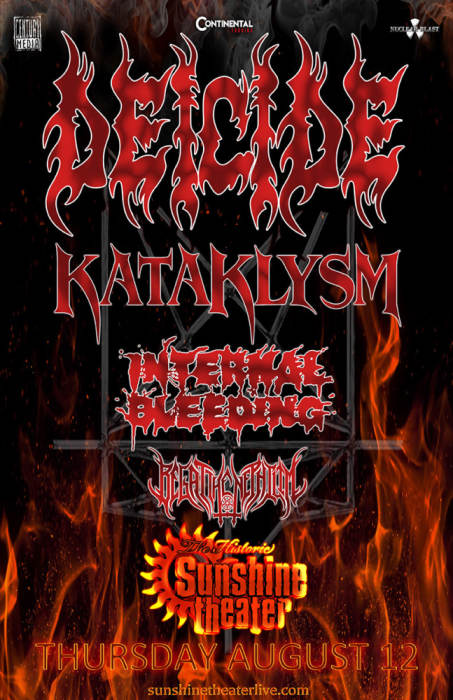 Deicide * Kataklysm * Internal Bleeding * Begat the Nephilim